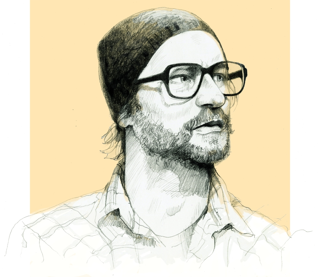 Portrait of artist, Kim Dorland for The Globe and Mail
