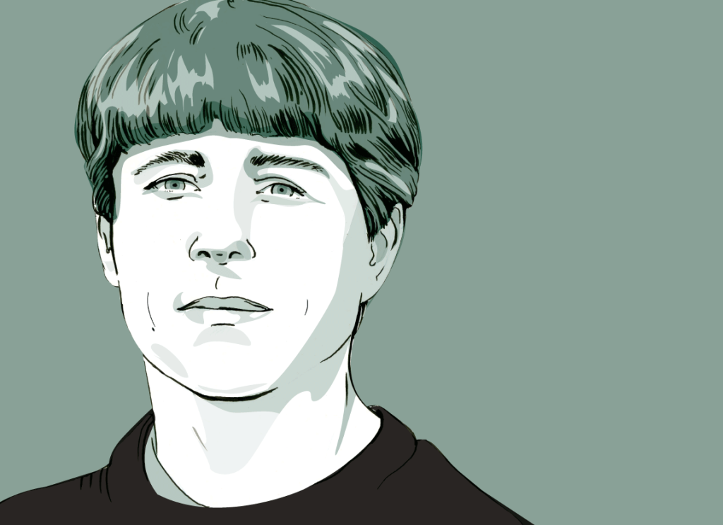 Author Michael Crummey, for the Globe and Mail