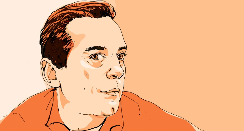 Author, Christos Tsiolkas for The Globe and Mail